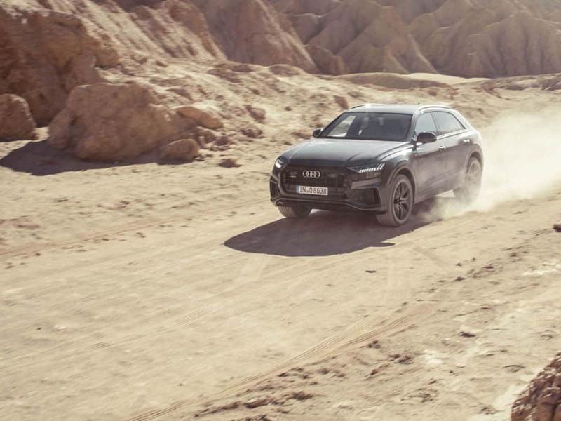Der Audi Q8.