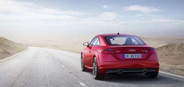 Das Audi TT Coupé